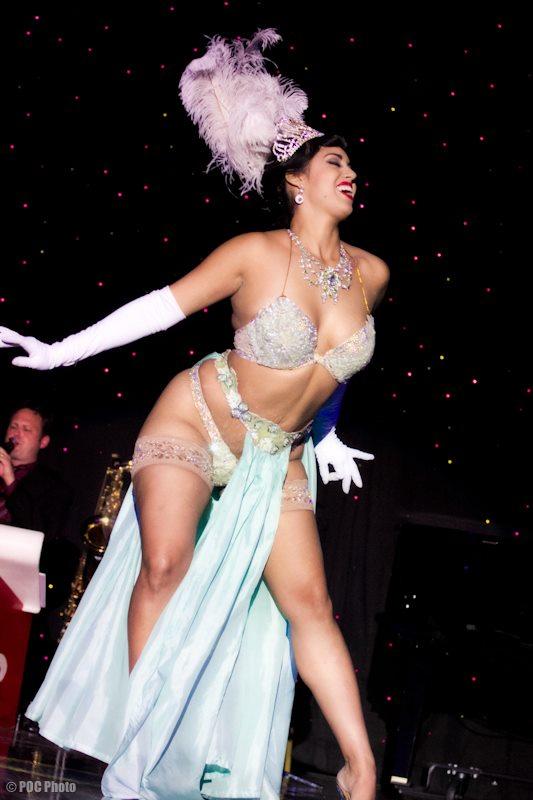 Coco Lectric, NOBF 2010u0027s Queen Of Burlesque (POC Photo)