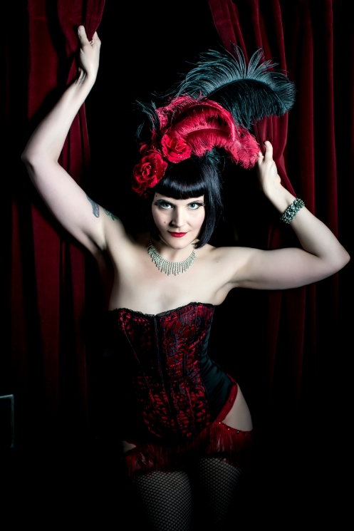 Don't you wanna come on out to meet her? Lady Drew Blood (Photo by Inti St. Clair)