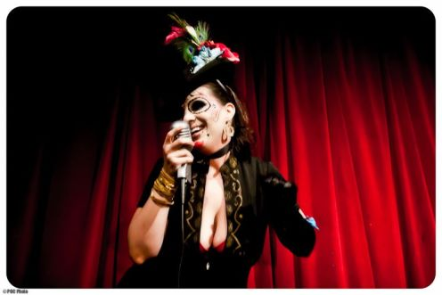 Jezebel Vandersnatch  at Tempting Tarts Burlesque 12/30/10