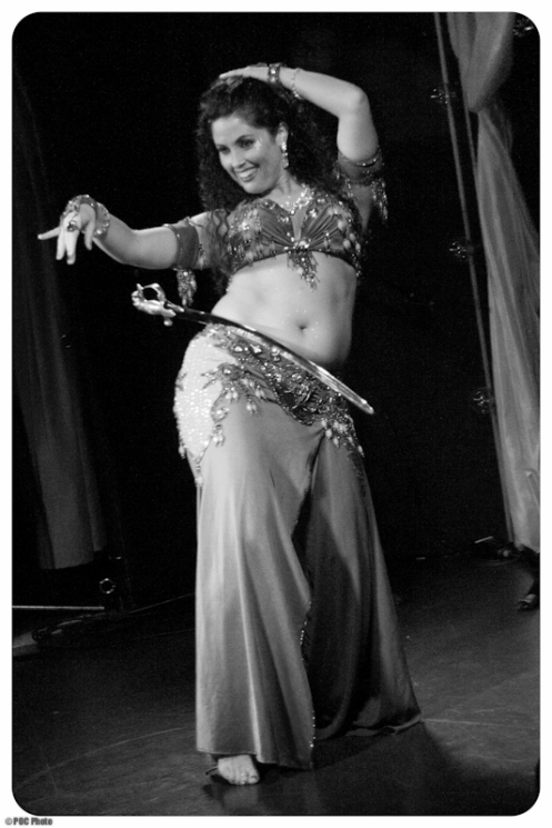 Belly dancer Bella Jovan (POC Photo)