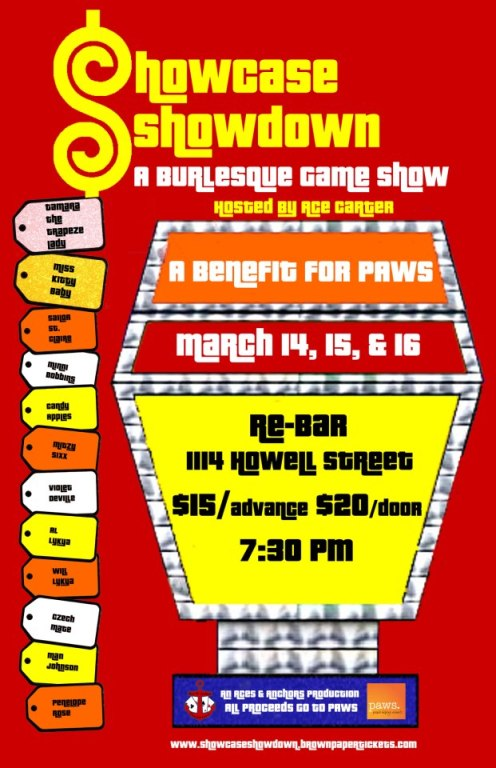 Three nights! Play for PAWS