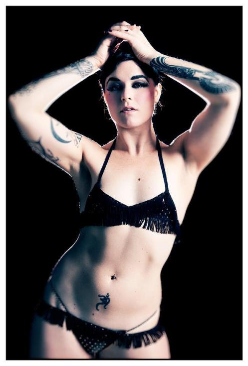 Lola Frost of the Vancouver Burlesque Centre guests this weekend at For Love & Money
