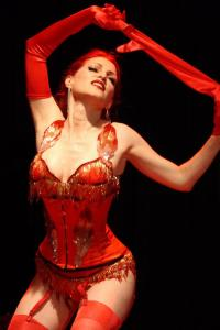 Jo Weldon will appear with Big Time! Burlesque in Portland May 4 (Photo by Allen Lee)