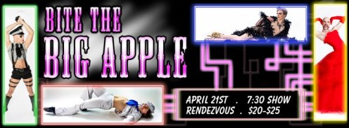 Sunday, April 21 @ The Rendezvous