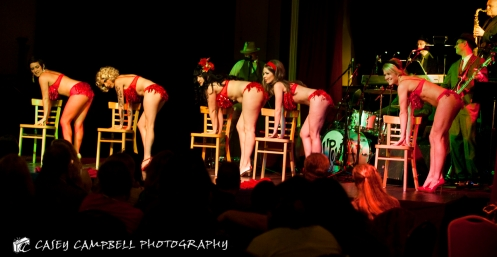 Big Time! Burlesque Company Dancers (Photo by Casey Campbell)