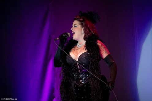 Cora Vette from Denver-The Texas Burlesque Festival Emcee