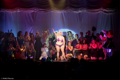 Closing night of Texas Burlesque Festival 2013