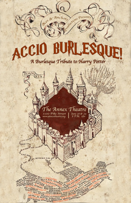 Accio Burlesque hits the Annex next weekend.
