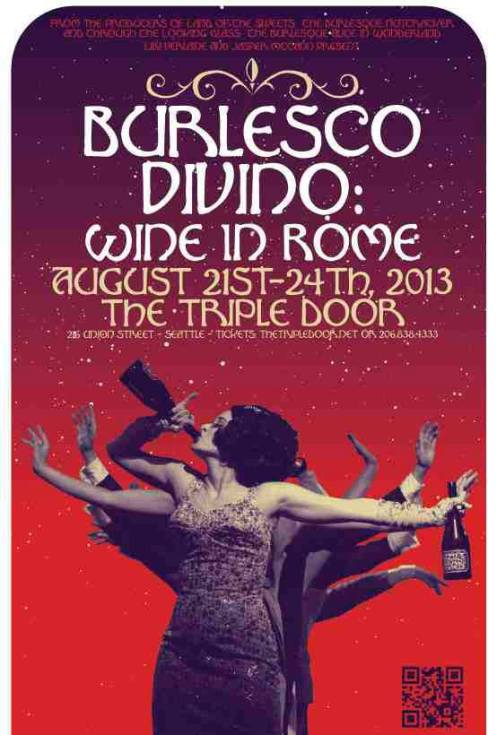 Burlesco DiVino tickets on sale now