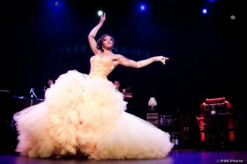 Sydni Deveraux stars in Burlesque Royale.  (POC Photo)