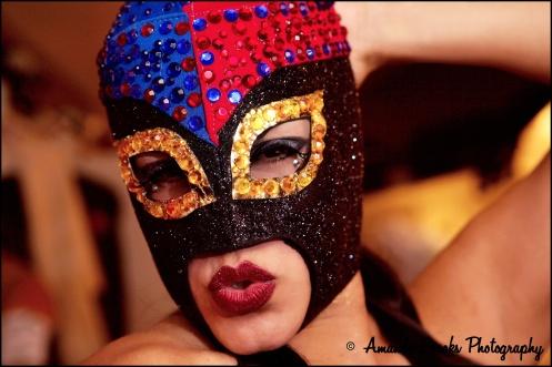 La Chica Boom stars in Burlesque Royale. (Photo Amanda Brooks)