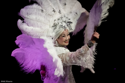 The magnificent smile (and headpiece!) of Ivy Tam (Photo by POC)