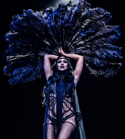 "La Chica Boom in ""Black Magic Woman"" (Photo by Brian Buck)"