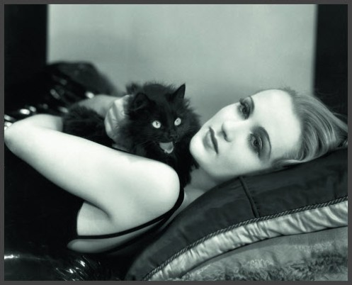 Carole Lombard and a friend, 1930s