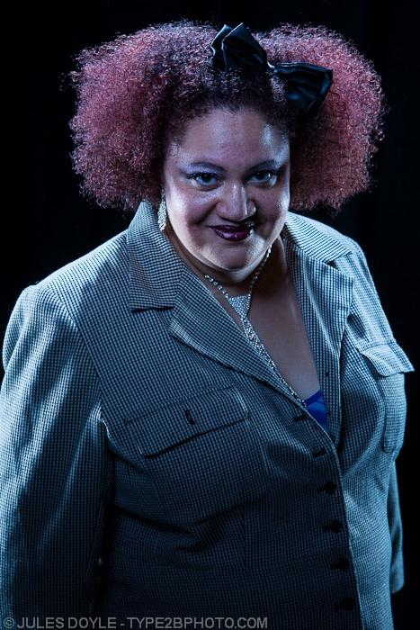 Host Rebecca M. Davis (Photo by Jules Doyle)