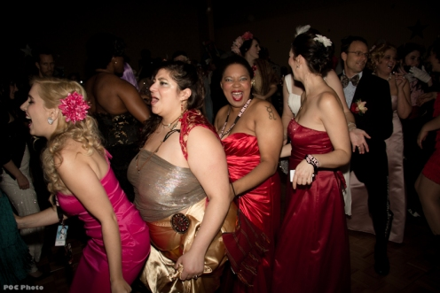 Burly Prom Conga Line (Photo by POC)