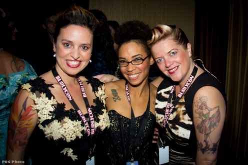meet & greet with Eve Harmony, Jeez Loueez & Cora Vette (photo by POC)