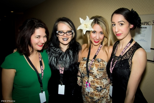 Meet & Greet with the lovely ladies from BC (photo by POC)