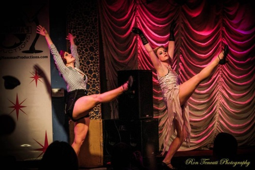 2013 Great Southern Exposure Best Duet Ginger Leah and Cherry Bomb (Photo by Ron Tencati)
