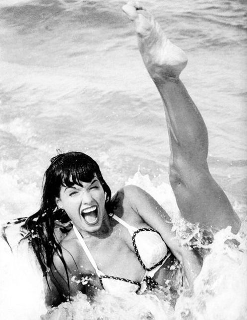 Bettie Page by Bunny Yeager, 1954