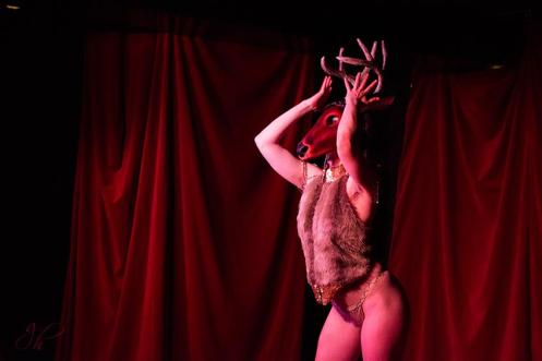 Jesss Belle Jones in Sinner Saint Burlesque's A Long Kiss Goodnight-February (by Greg Holloway)