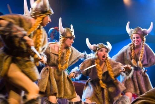 Vikings gone wild.