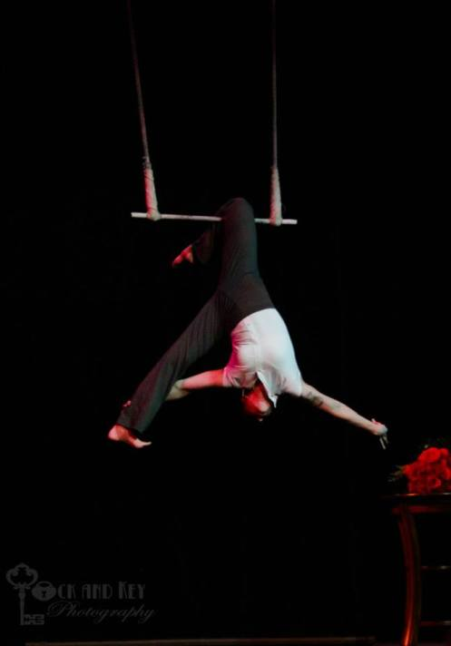 Karli Stewarts soulful aerial routine (Photo courtesy of Israel Caine of Lock and Key Photography)
