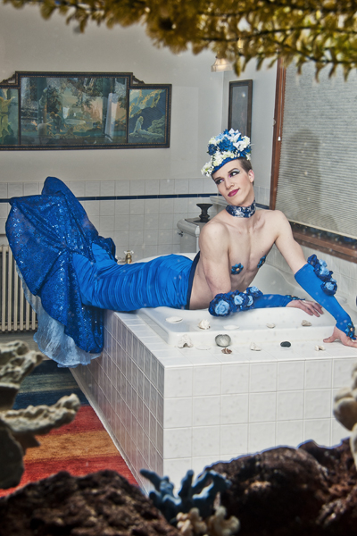Paris as a mermaid... (Photo by by Charlie Ainslie)