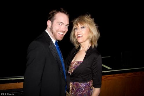 Eddie with Velvet Ice at BHoF 2012 (photo by POC Photo)