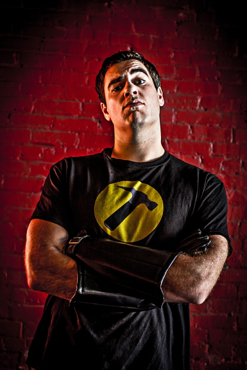 Captain Hammer (Photo by Inti St. Clair)