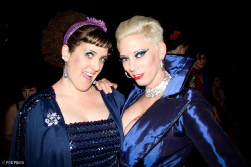 Iva with Elsa Von Schmaltz at BHoF 2012 (POC Photo)