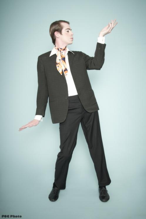 Fosse Jack as Dario in Burlesco DiVino (POC Photo)